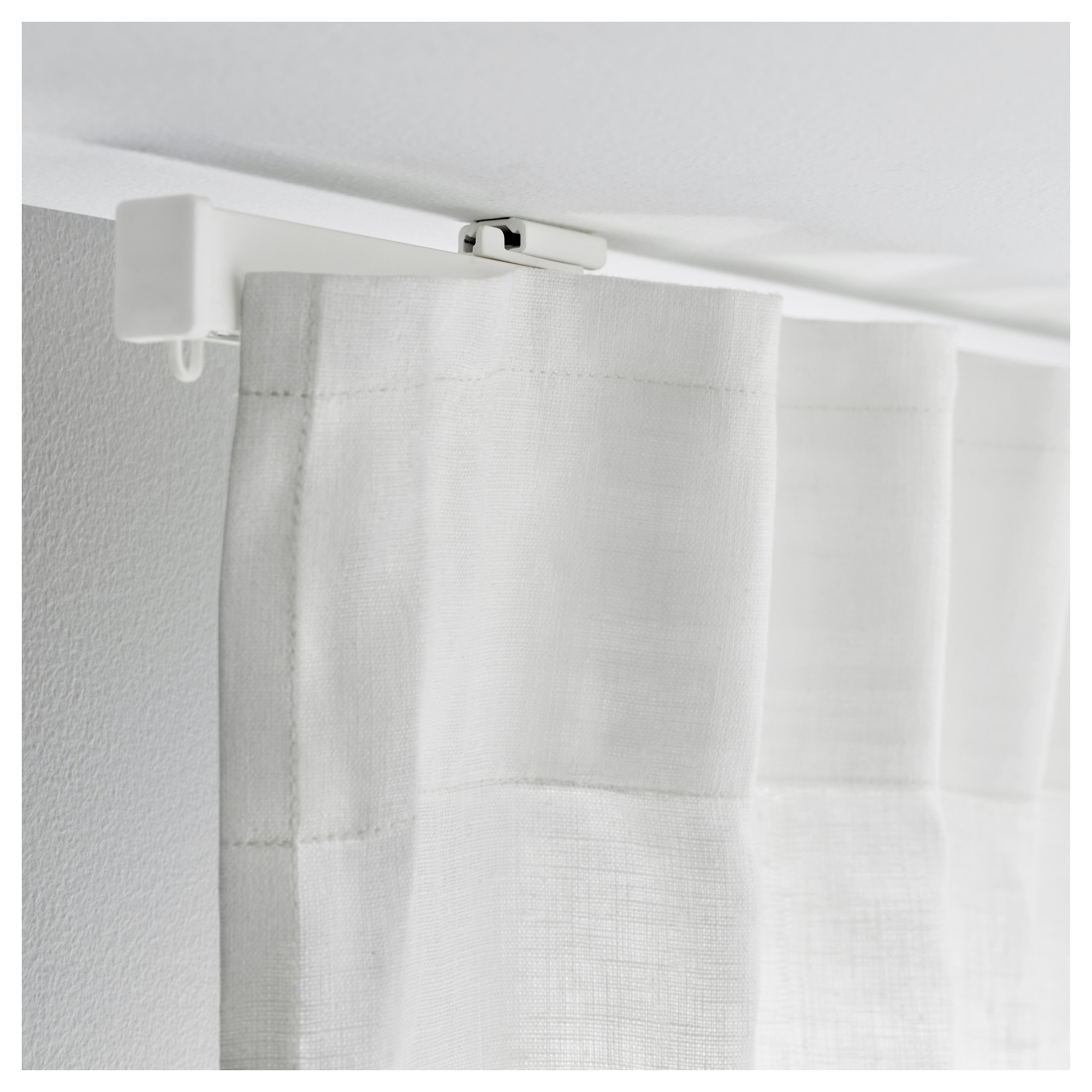 track mounted hide heater pin a our found curtains kvartal ceiling curtain way to water ikea from