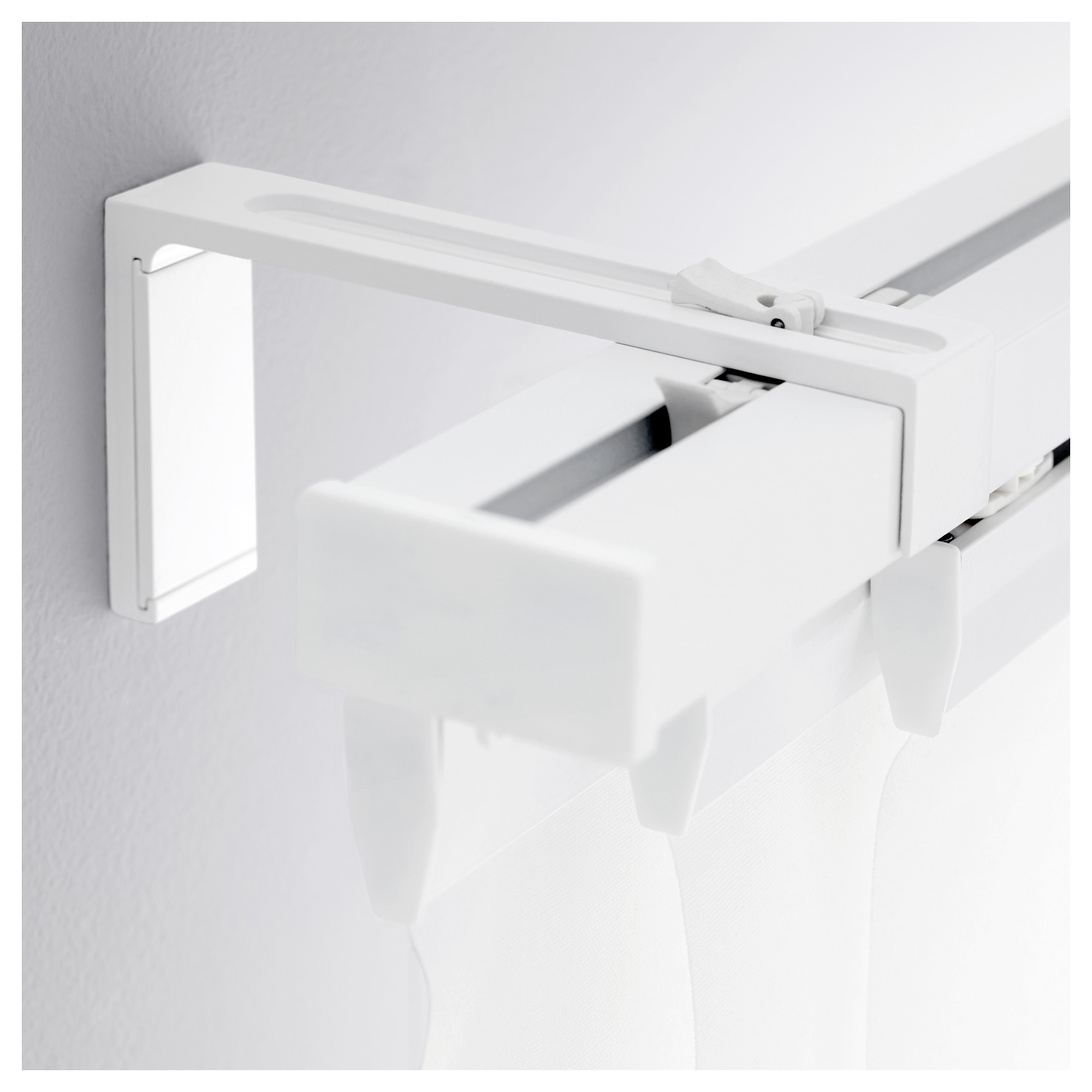 Vidga Wall Bracket White Length 4 ¾ Max Load 22 Lb