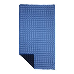 IKEA PS 2017 blanket, blue