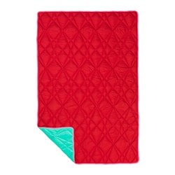 IKEA PS 2017 throw, red, turquoise