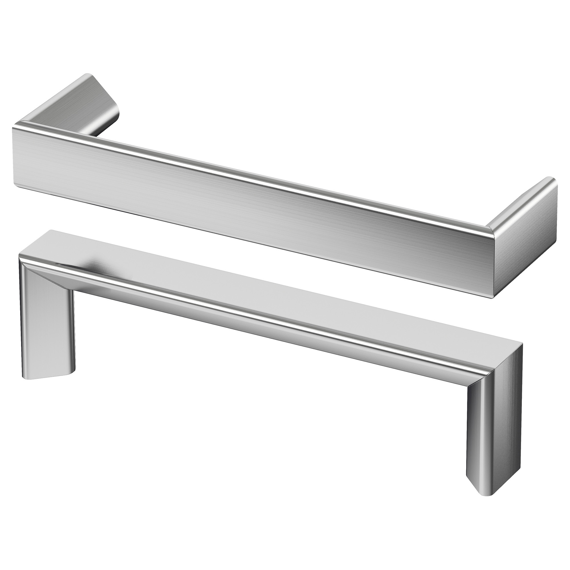 furniture handles. tyda handle, stainless steel length: 5 3/8 \ furniture handles t