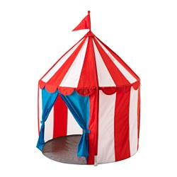 CIRKUSTÄLT children's tent Height: 120 cm Diameter: 100 cm