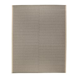 LOBBÄK rug flatwoven, in/outdoor, indoor/outdoor beige