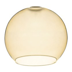 JAKOBSBYN pendant lamp shade, light brown