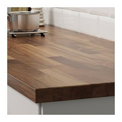 Karlby Countertop For Kitchen Island Walnut