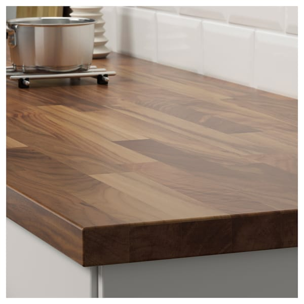 Amazing Karlby Countertop For Kitchen Island Walnut Veneer Best Image Libraries Thycampuscom