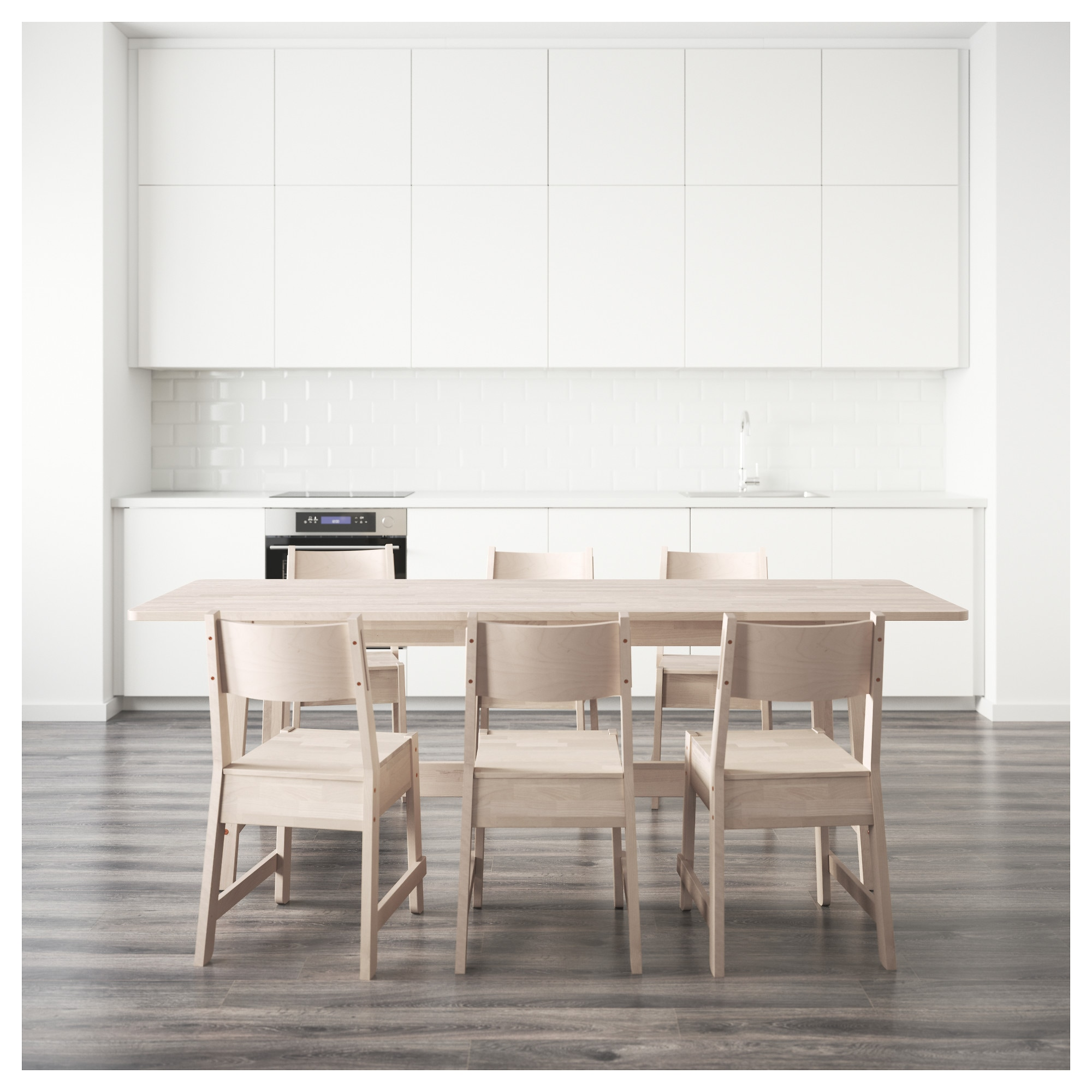 NORRÅKER / NORRÅKER Table And 6 Chairs   IKEA