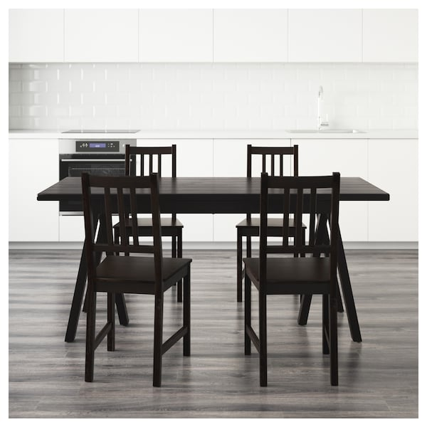 IKEA RYGGESTAD/GREBBESTAD / STEFAN Table and 4 chairs
