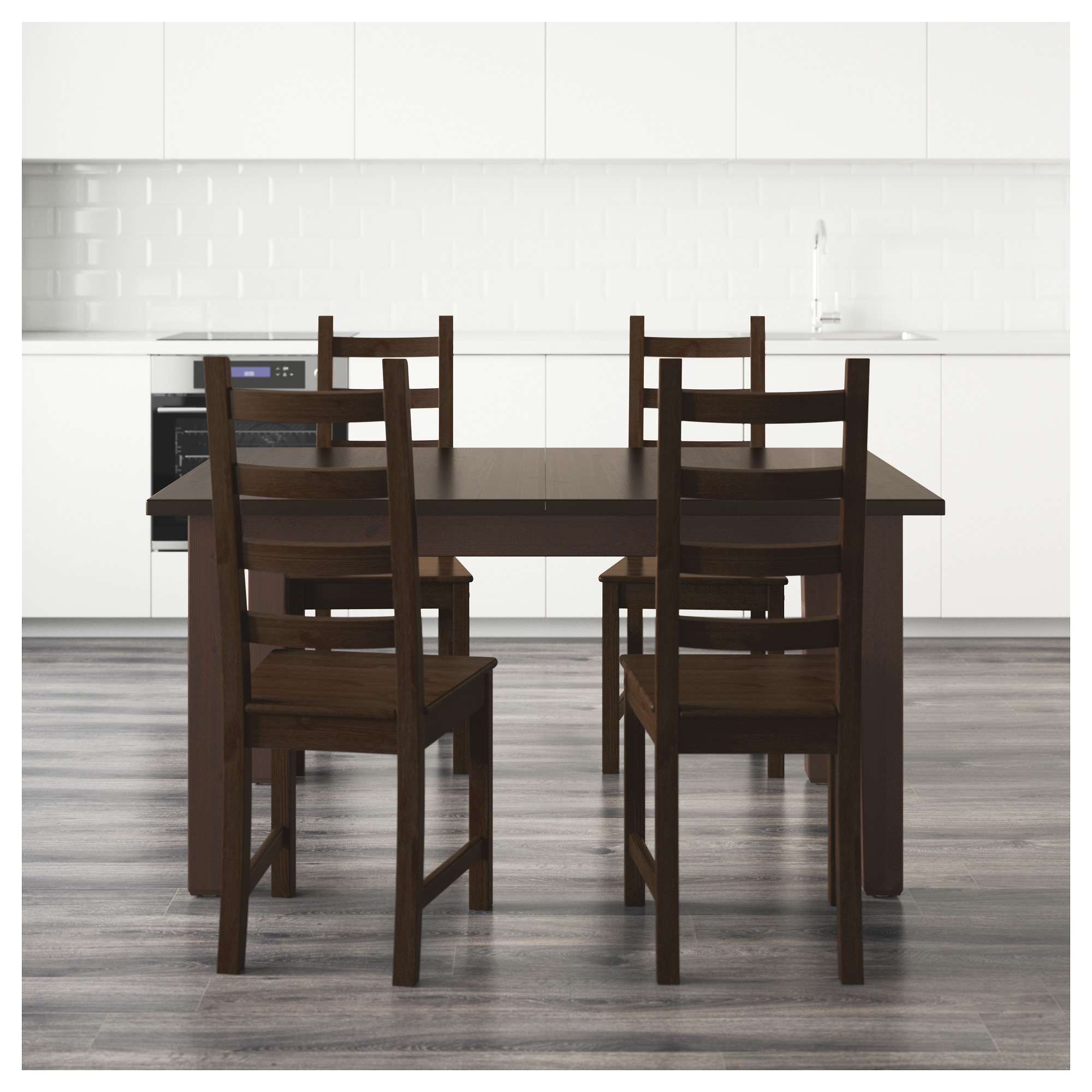 "STORN""S KAUSTBY Table and 4 chairs IKEA"
