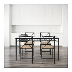 GRANS Table and 4 chairs IKEA