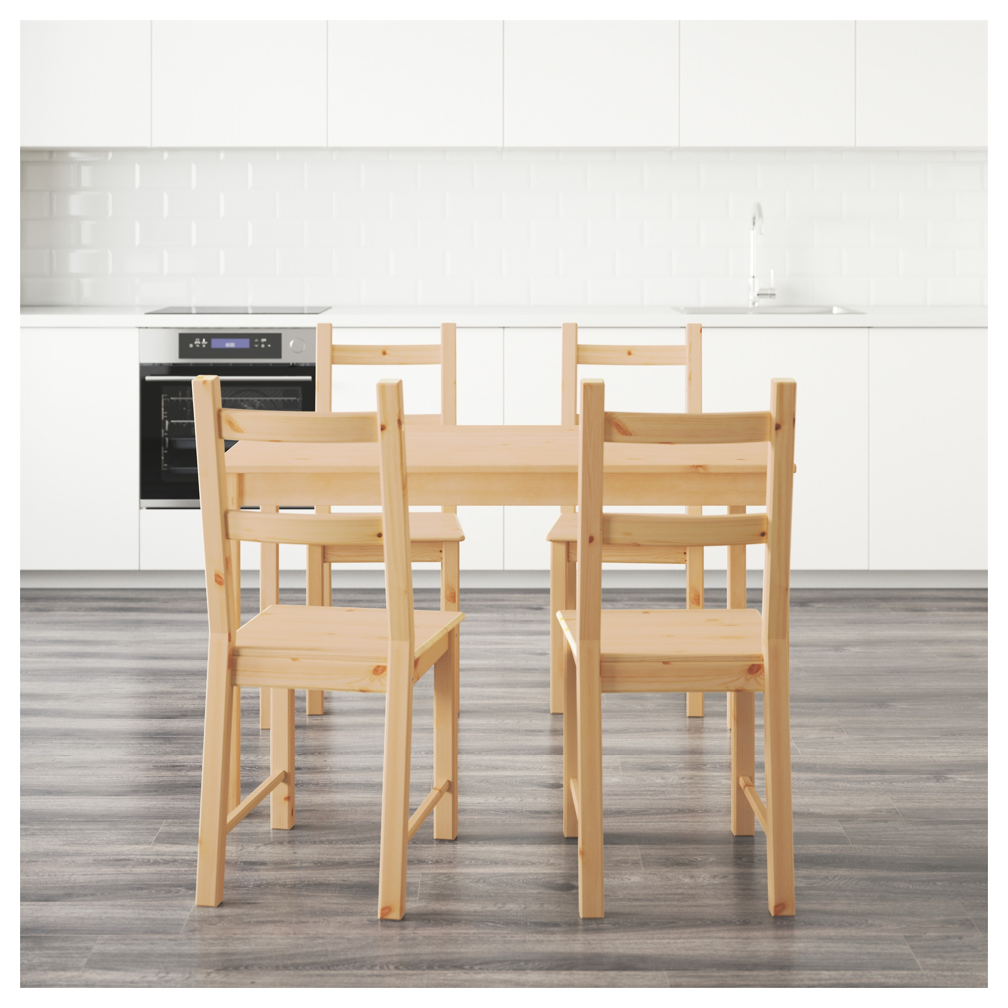 INGO IVAR Table and 4 chairs IKEA