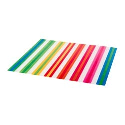 POPPIG, Place mat, stripe, multicolor