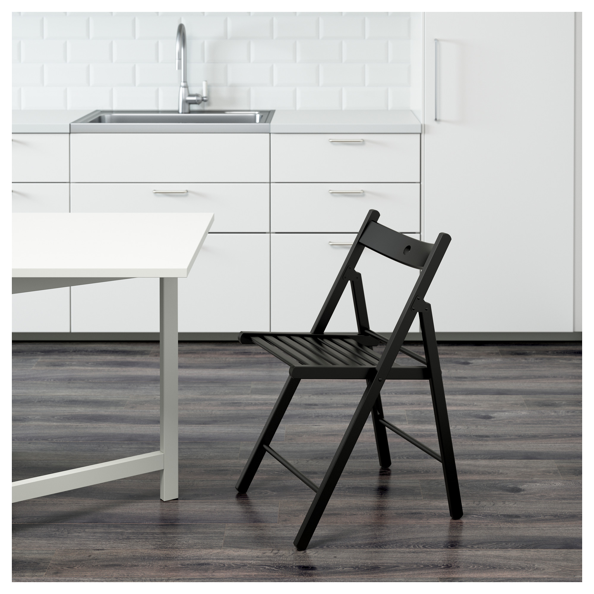 Terje Folding Chair Black