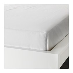 ULLVIDE flat sheet, white
