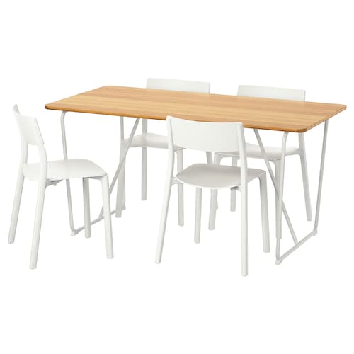 IKEA ÖVRARYD / JANINGE Table and 4 chairs