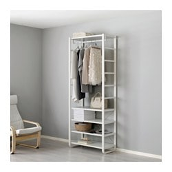 Elvarli Shelf Unit White