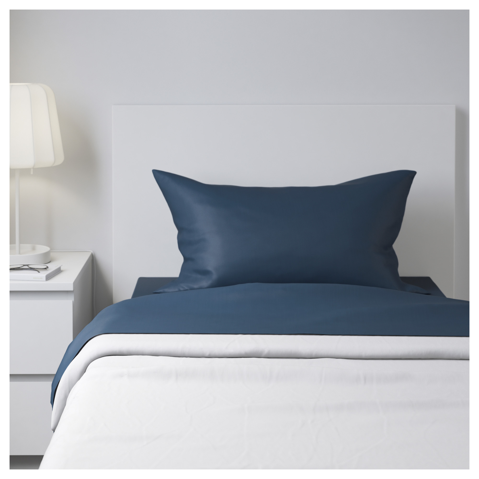 Design Ikea Bedding bedding bed linen ikea ullvide sheet set dark blue thread count 200 200