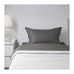 ULLVIDE sheet set, gray Thread count: 200 square inches Thread count: 200 square inches