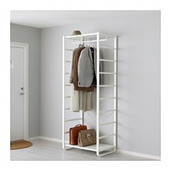 ELVARLI, Shelf unit, white