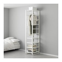 ELVARLI Shelf unit, white