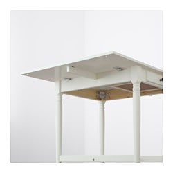 Merveilleux INGATORP Drop Leaf Table, White