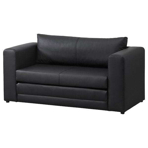 Ikea Slaapbank Type Solsta.Two Seat Sofa Bed Askeby Black