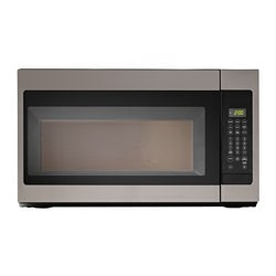 "BETRODD microwave oven with extractor fan Width: 29 7/8 "" Depth: 16 "" Height: 17 1/4 "" Width: 76.0 cm Depth: 40.6 cm Height: 43.8 cm"