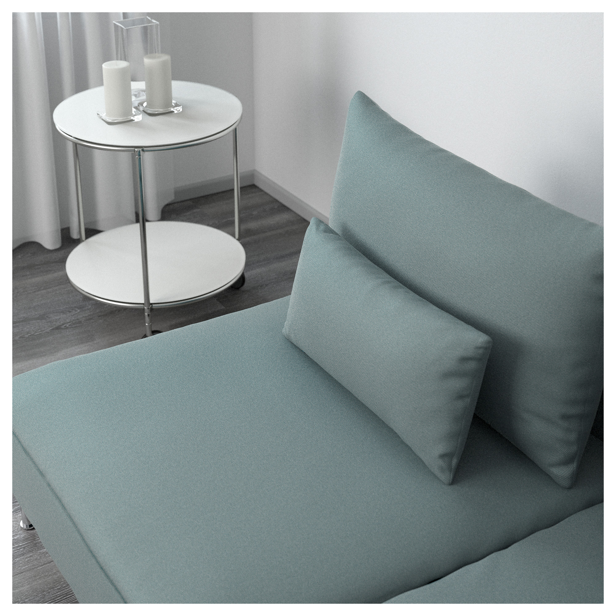 Canap turquoise ikea free customiser son canap ika canap ika karlstad change - Changer la mousse de son canape ...