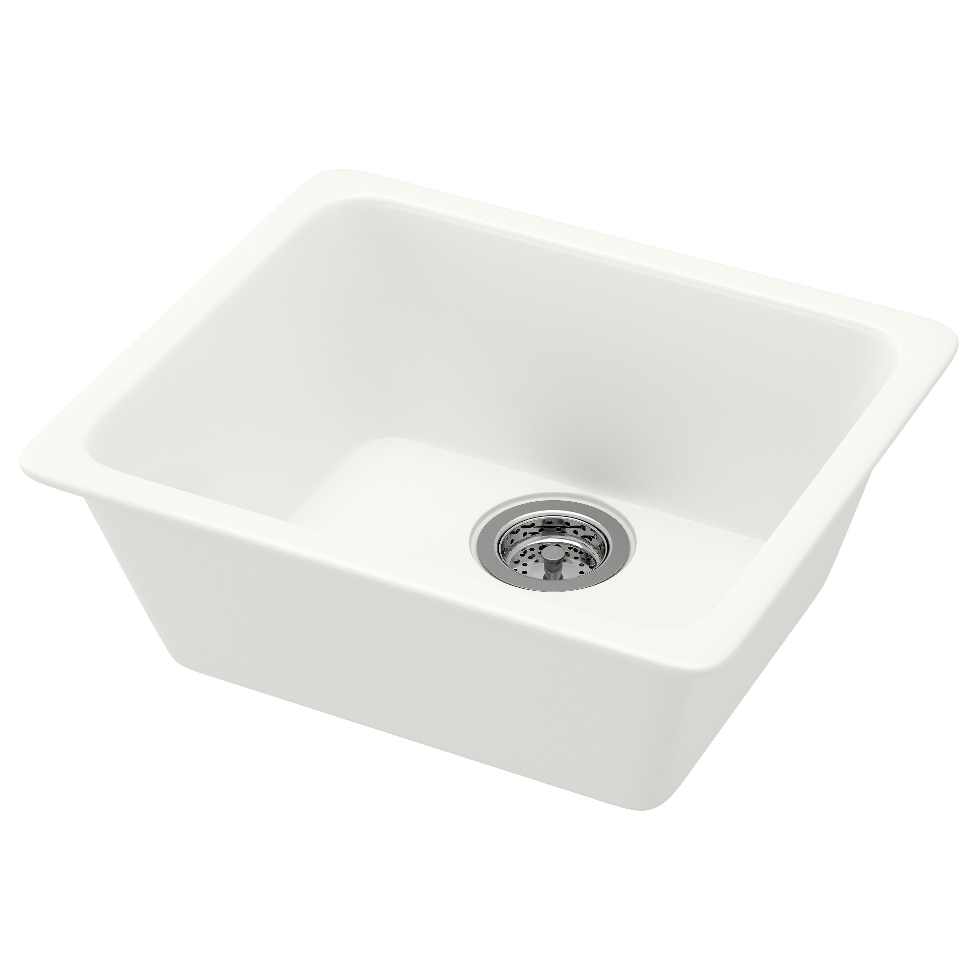 domsj sink white width 20 78 depth 17 3 - Kitchen Sinks Cheap Prices
