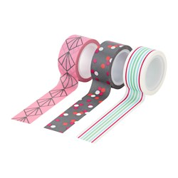 UPPFATTA roll of tape Length: 5 m Width: 2 cm Package quantity: 3 pack