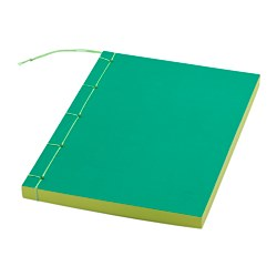 IKEA PS 2017 note-book, green Length: 21 cm Width: 14 cm Surface density: 80 g/m²