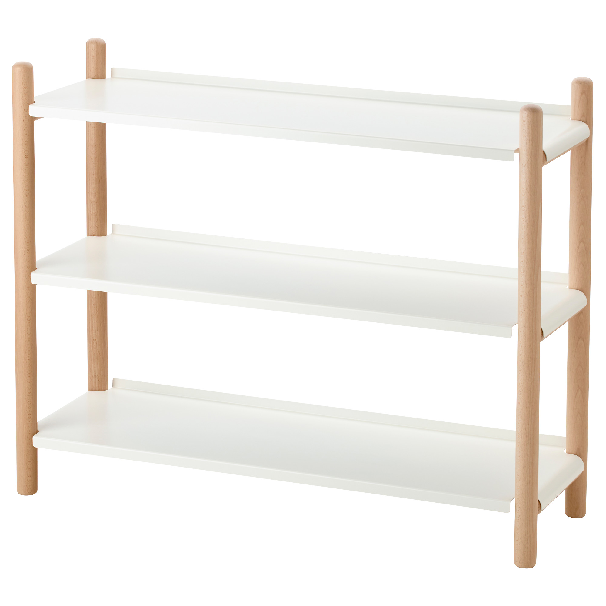 IKEA PS 2017 shelf unit  beech  white Width  35 3 8. Bookshelves   Bookcases   IKEA