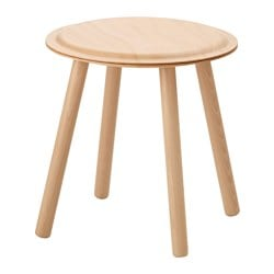 IKEA PS 2017, Side table/stool, beech
