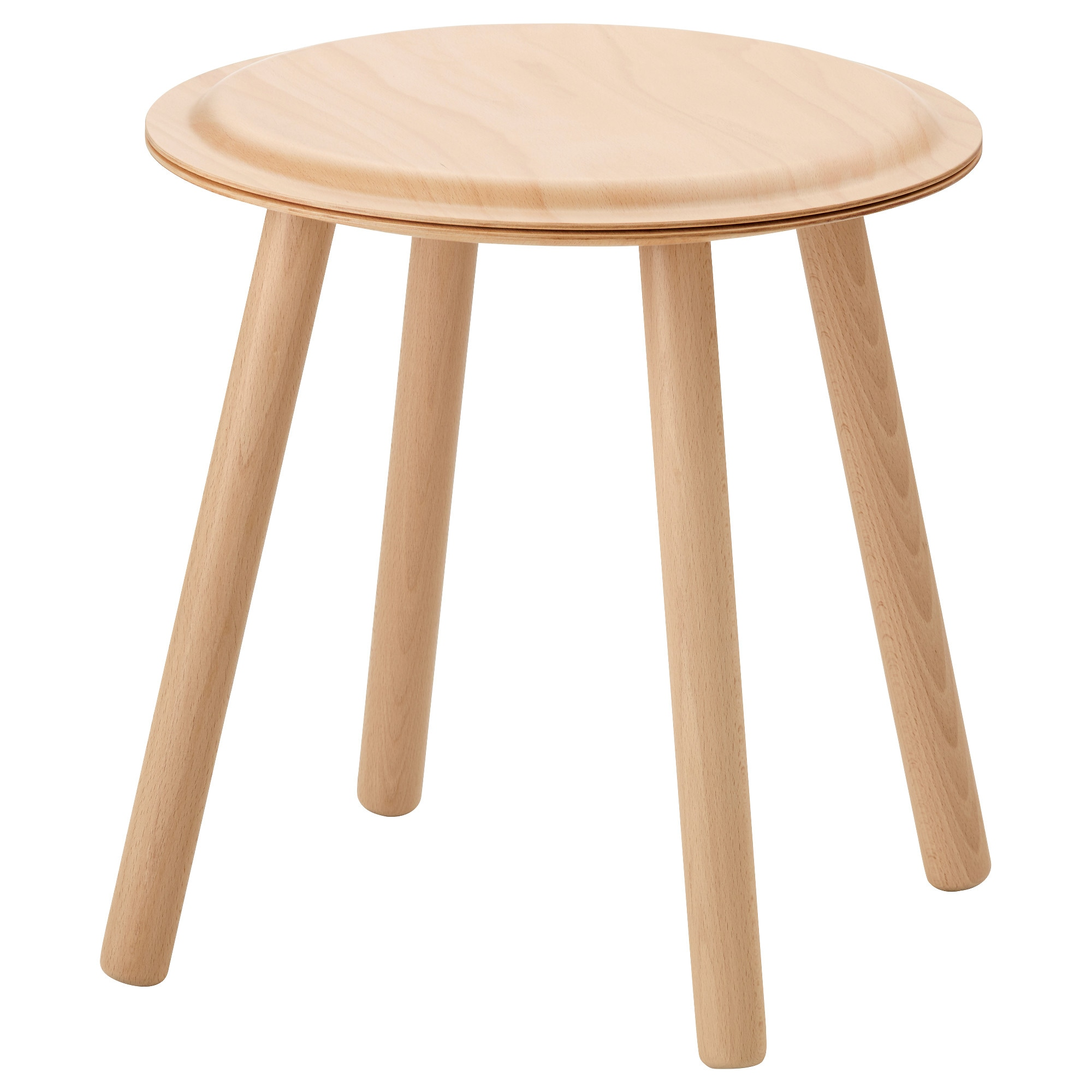 IKEA PS 2017 Side Table/stool, Beech Tested For: 220 Lb Height: