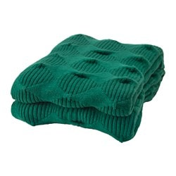 IKEA PS 2017 throw, green Length: 160 cm Width: 95 cm