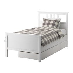 Hemnes Bed Frame With 2 Storage Bo