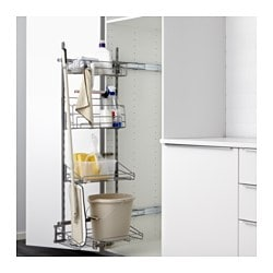Utrusta Pull Out Rack For Cleaning Supplies