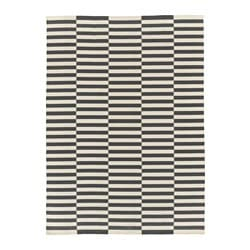 STOCKHOLM 2017 rug, flatwoven, striped handmade, striped white grey Length: 350 cm Width: 250 cm Area: 8.75 m²