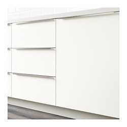 white drawer front. HÄGGEBY Drawer Front, White Front