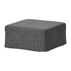 NILS, Stool cover, Skiftebo dark gray