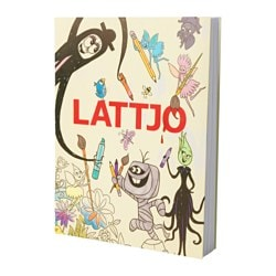 LATTJO, Activity book, green