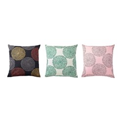 SÄLLSKAP cushion cover, assorted colours Length: 50 cm Width: 50 cm