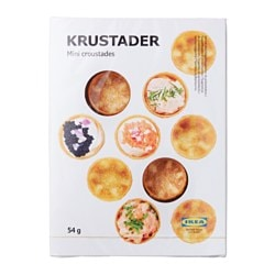 KRUSTADER mini croustades Net weight: 54 g