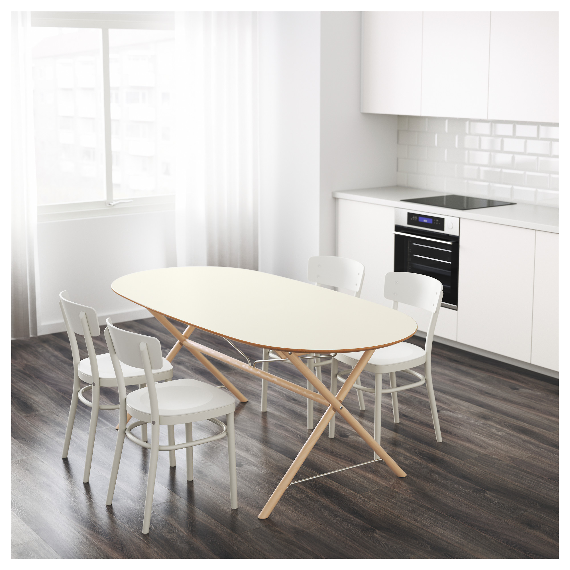 Table blanc laqu ikea best burs workstation ikea a long table top makes it e - Ikea tables gigognes ...