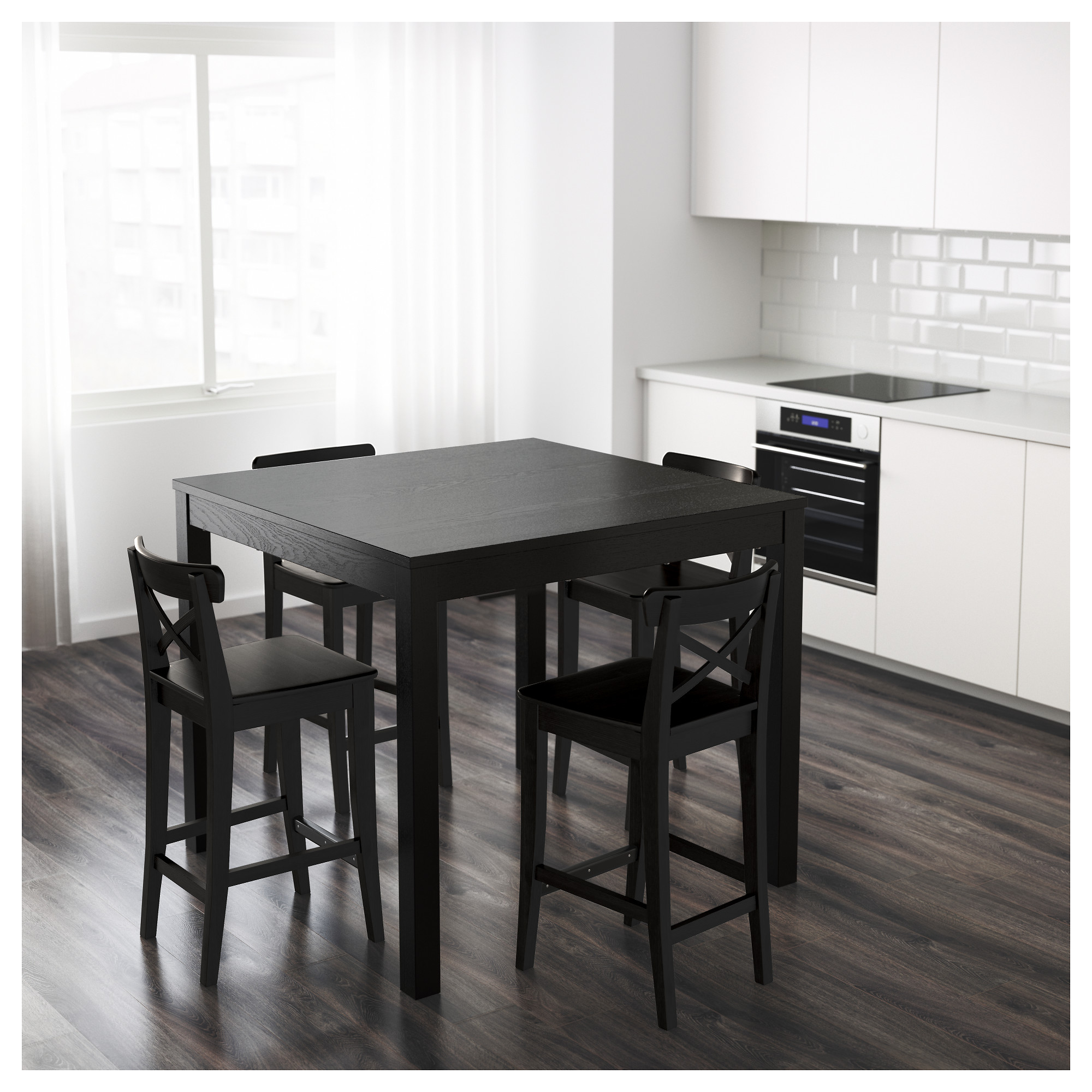 Table haute mange debout ikea with table haute mange for Table haute cuisine mange debout