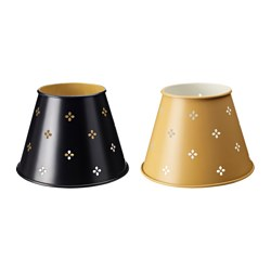 "SÄLLSKAP lamp shade, assorted colors Diameter: 8 "" Height: 6 "" Diameter: 20 cm Height: 15 cm"