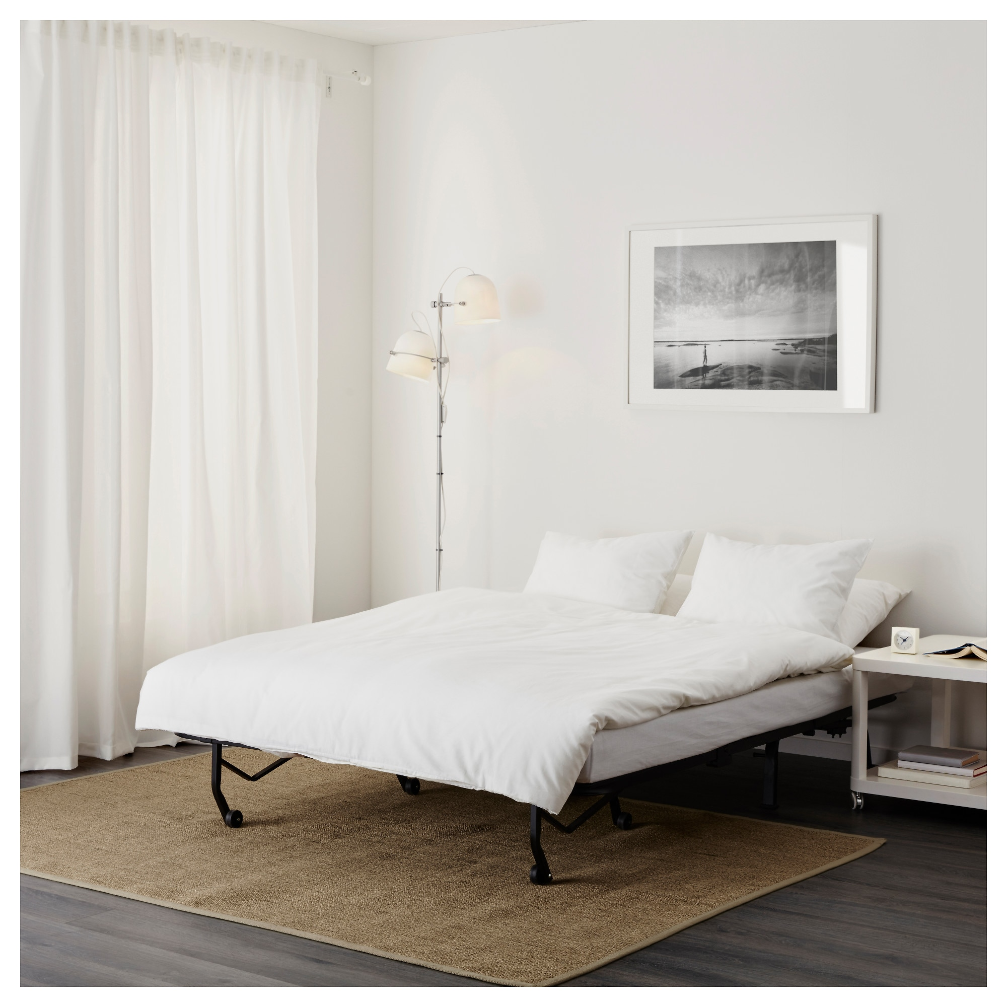 LYCKSELE MURBO Sofa Bed   Ransta White   IKEA