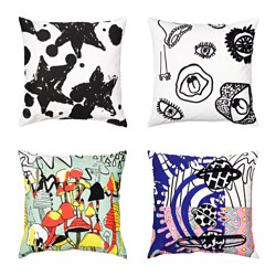 SPRIDD cushion cover, assorted patterns Length: 50 cm Width: 50 cm