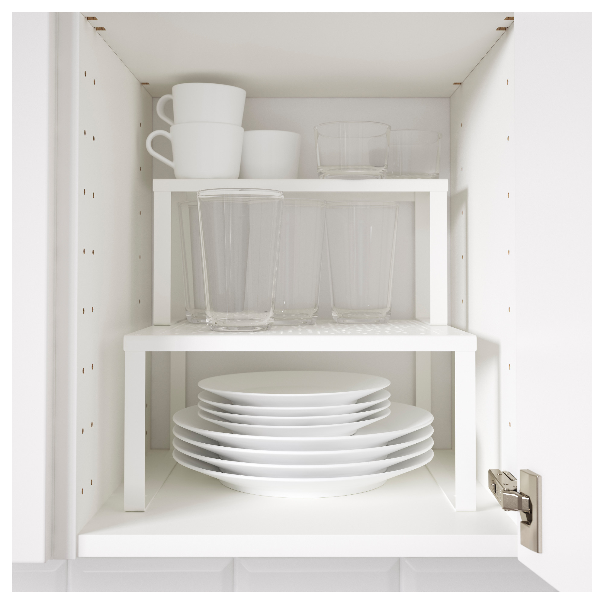 White Kitchen Shelf variera shelf insert - ikea