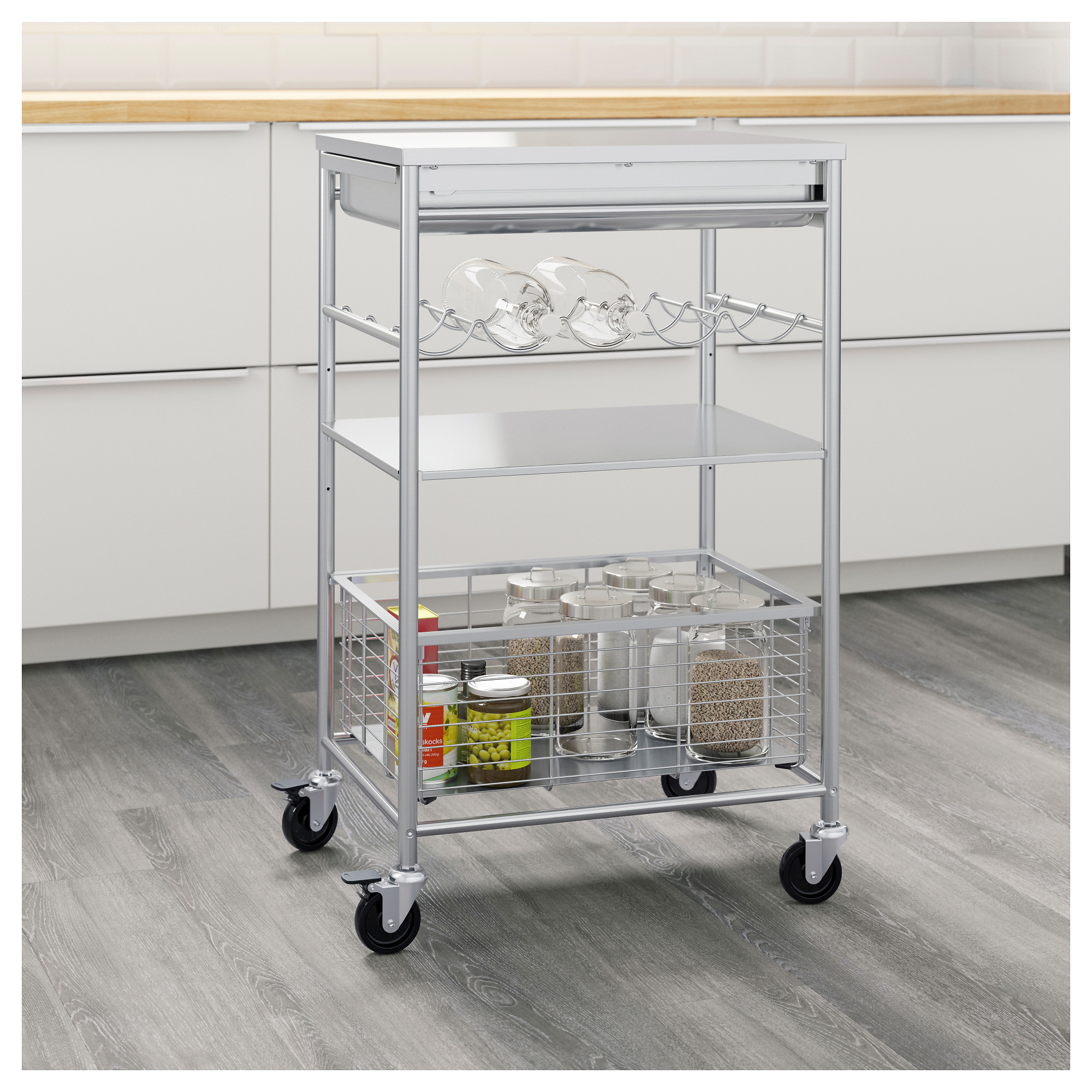 Beau GRUNDTAL Kitchen Cart   IKEA